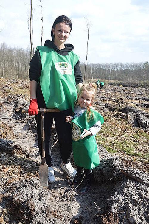 Депутати Шепетівської міської ТГ висадили п'ять тисяч саджанців дерев