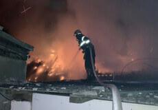 Вночі у п'ятницю в Полонному було «гаряче»