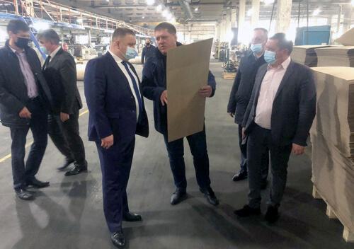 На Понінківській фабриці перевірили перебіг робіт з реконструкції очисних споруд