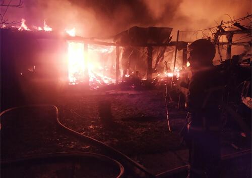 У селі на Шепетівщині через коротке замикання у хліві загинули кури