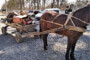На Ізяславщині молодики вкрали і перевезли підводою майже пів тонни металу