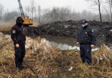 У гідрологічному заказнику на Шепетівщині екскаватором незаконно видобували ґрунт
