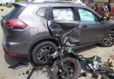 На Шепетівщині 18-річний мотоцикліст врізався у припаркований позашляховик