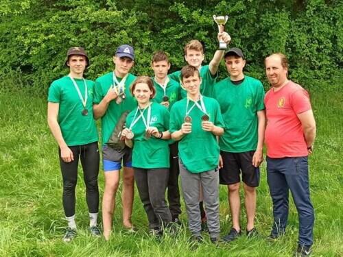 Команди Судилківської та Полонської громад на Чемпіонат області зі спортивного туризму серед юнаків посіли призові місця