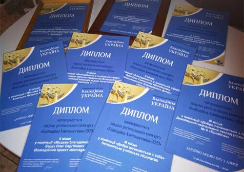 Ізяславська школа отримала перемогу в регіональному конкурсі «Благодійна Хмельниччина»