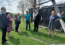 Голова Шепетівської РДА узяв на контроль реставрацію містка у Великій Рішнівці
