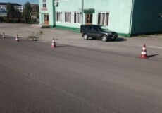 У центрі Ізяслава провалилася дорога