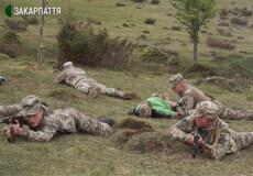 Учні шепетівського військового ліцею взяли участь у військово-патріотичній грі «Карпатський щит»