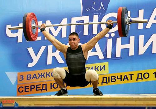 Шепетівчанин здобув золото на чемпіонаті України з важкої атлетики