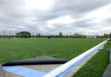 Хмельницька АЕС облаштовує нове футбольне поле зі штучним покриттям