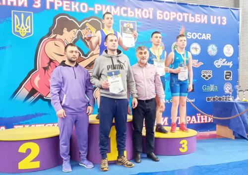 Шепетівчанин Ярослав Єфімчук здобув бронзову нагороду з греко-римської боротьби