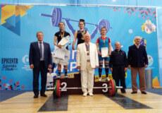 Важкоатлетка з Шепетівки здобула бронзу на чемпіонаті України
