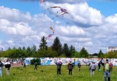 Команда Полонного здобула бронзову нагороду на змагання з повітряних зміїв