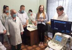 Славутська лікарня отримала від Уряду Японії діагностичну систему експертного класу