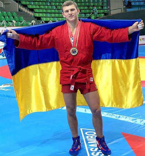 Нетішинець став чемпіоном Європи з самбо