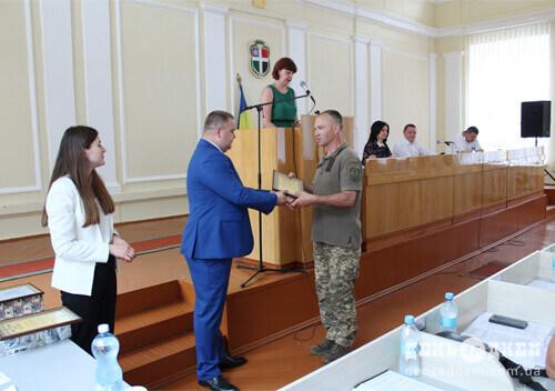 Рятувальник із Шепетівщини отримав нагороду від Верховної Ради України