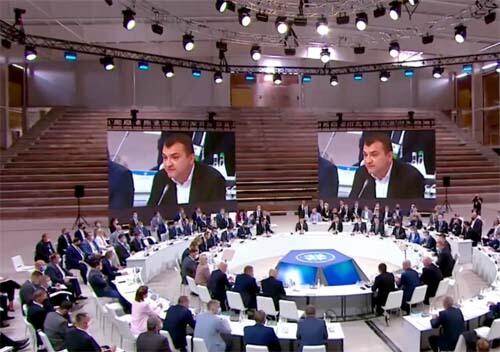 У Хмельницькому з Президентом обговорювали найважливіші проблеми органів місцевого самоврядування