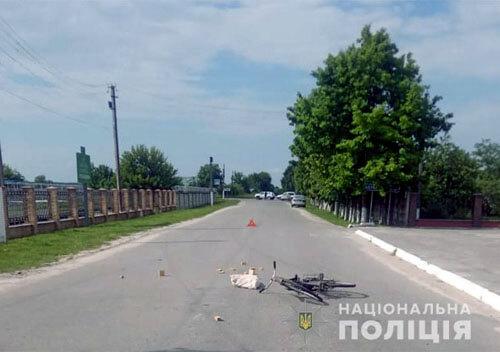 В Ізяславі під колеса столичного «Део Ланос» потрапив літній велосипедист