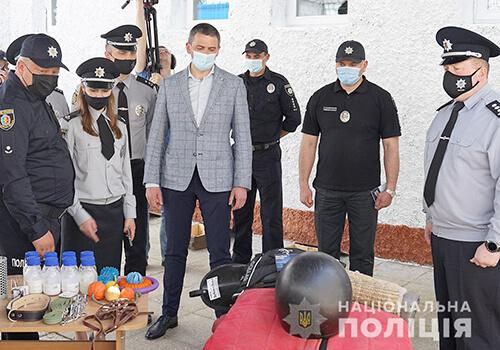 У Нетішині відкрилась філія кінологічного центру поліції Хмельниччини