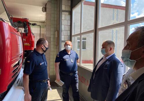 Представили нових керівників Шепетівського райуправління ДСНС