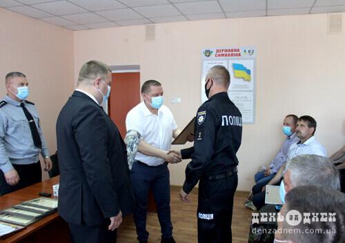 У Шепетівці вітали дільничних офіцерів поліції
