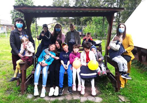 В Полонному пройшло свято у притулку «Щасливе дитинство»