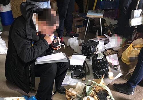 На Хмельниччині контррозвідка СБУ блокувала викрадення комплектуючих до військової авіатехніки