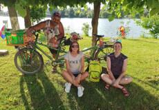 Французькі велосипедисти прибули до Славути