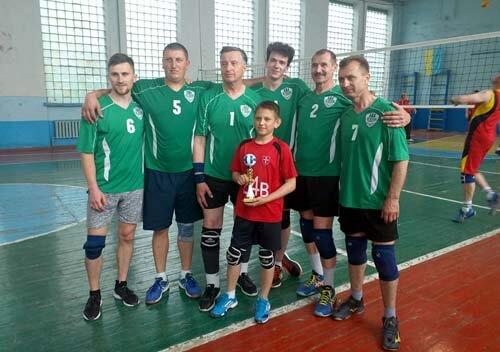 «Лісівник» — володар Кубку міста Шепетівки з волейболу серед чоловічих команд