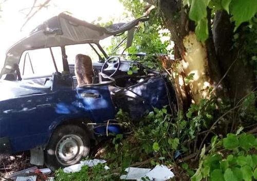 Смертельна ДТП: на Ізяславщині водійка «Жигулів» врізалася у дерево