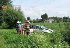 У Шепетівському районі сталася ДТП, у якій травмувалися двоє людей