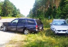 У Шепетівському районі сталася ДТП — не розминулися два «Форди», одного з водіїв ушпиталили