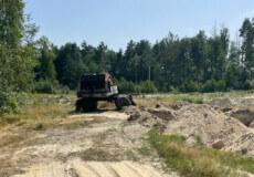 В одному із сіл Шепетівщини встановили факт незаконного видобутку піску
