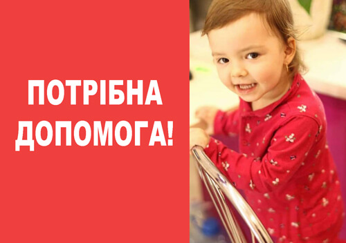 Дворічна онука подружжя зі Славути, яке загинуло в ДТП, потребує допомоги