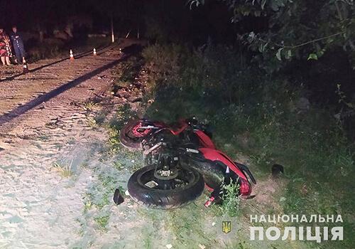 У Шепетівському районі на сільській дорозі зіткнулися два мотоцикли