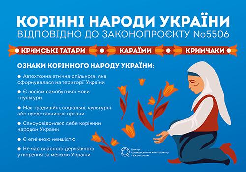 Закон про корінні народи. Нащо він Україні?