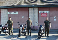 Автопарк шепетівських лісівників поповнився мотоциклами