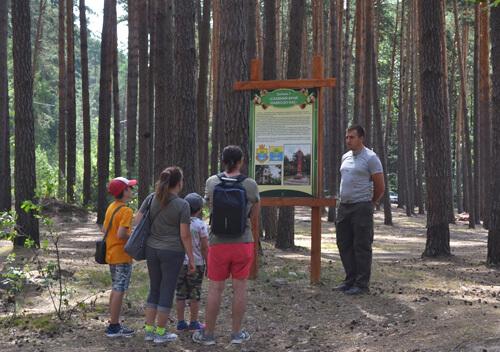 Туристи зі столиці завітали до Національного природного парку у Шепетівському районі