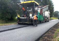 На Ізяславщині завершують ремонт дороги вартістю 39,5 млн гривень