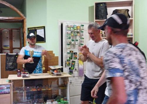 Вперше у Шепетівці команди рибалок змагалися за кубок першості