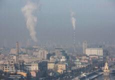 Пилова хмара з Сахари накриває Україну