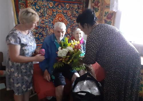 Жителька Славутчини відсвяткувала 90-річний ювілей