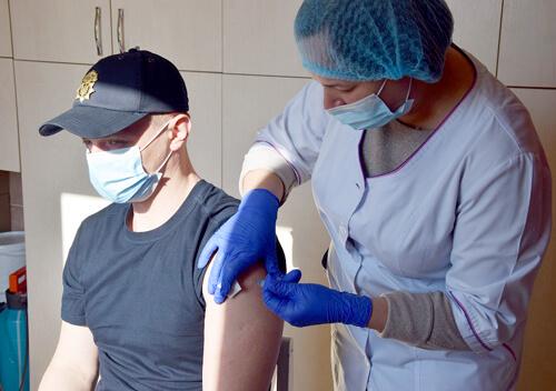 Понад 50% хмельницьких нацгвардійців повністю вакцинувалися