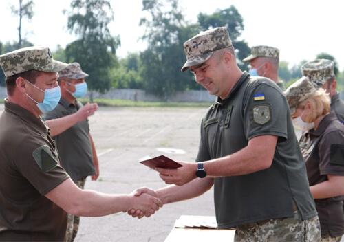 Зенітники Шепетівського полку отримали нагороди