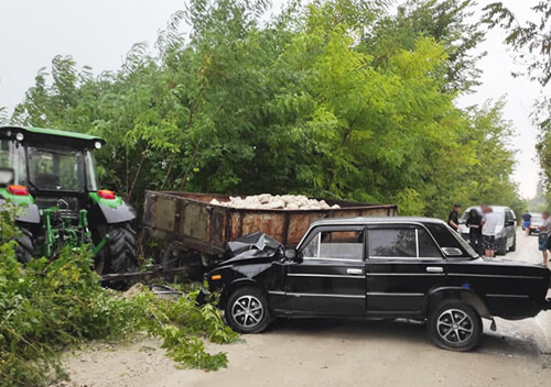 На Хмельниччині водій «Мерседеса» на смерть збив пішохода