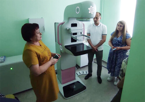 У Шепетівській багатопрофільній лікарні відтепер працює кабінет мамографії