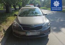 У Хмельницькому поліція шукає, хто пошкодив автомобіль Kia Cerato