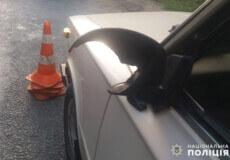 На Хмельниччині під час ДТП автомобілі майже не постраждали, але у водія травмовано око