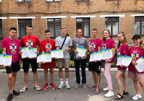 Шепетівські джури стали бронзовими призерами Буковинської січі
