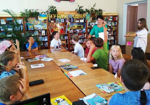 У Шепетівській тергромаді серед дітей визначили лідера читання